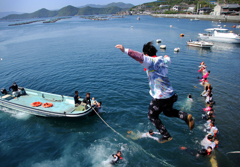 金賞「ジャンプ」